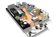 Création de plans intérieurs
