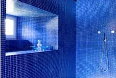 douche italienne bleue 1