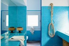douche italienne bleue 6